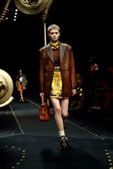 Versace show at Milan Fashion Week