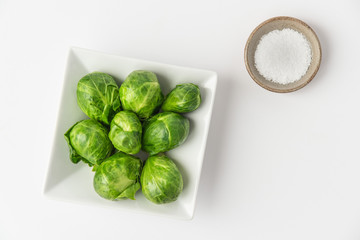 Poster Brussels Brussels Sprouts in a Bowl