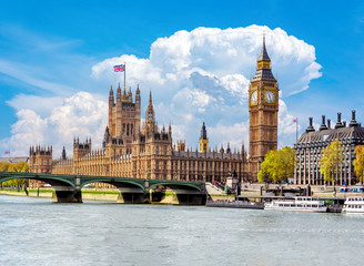 Foto op Canvas Londen Big Ben and Houses of Parliament, London, UK