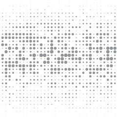 The grey bubbles on white background