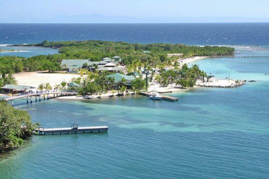 Mahogany Bay, Isla Roatan, Honduras