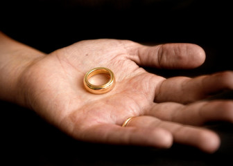 Image result for woman's handgold ring  palm up