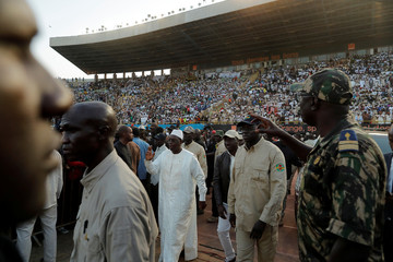Senegal's President Sall's final campaign rally In Dakar