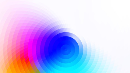 vector abstract bright colorful background