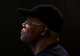 Actor Samuel L. Jackson poses for a portrait for Captain Marvel in Beverly Hills