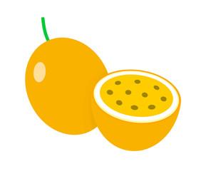 黄色のパッションフルーツ