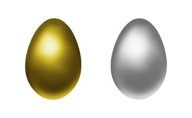 金の卵と銀の卵