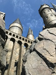The Hogwart's Castle in Universal Studio Japan