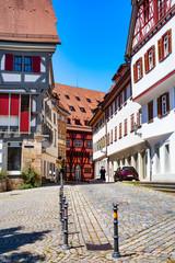 Beautyful Old town of Esslingen am Neckar, Germany