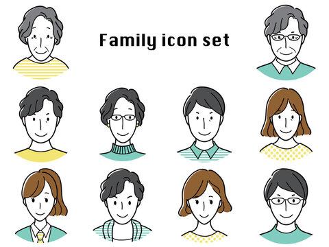 家族アイコン