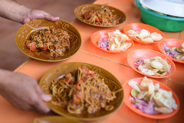 """Mie Aceh"" traditional food Noodle of Aceh"