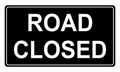 Road Closed traffic sign