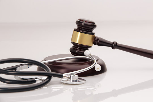 A concept related to a medical lawsuit in the legal system