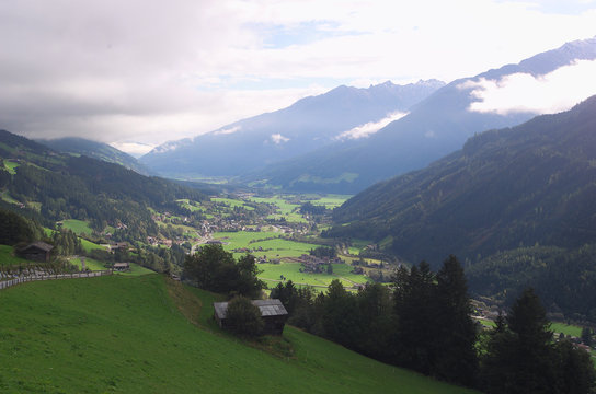 valley zillertal, tyrol, austria