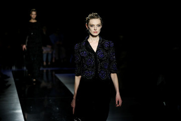 Armani show at Milan Fashion Week