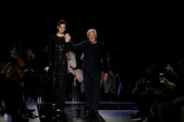 Armani show at Milan Fashion Week