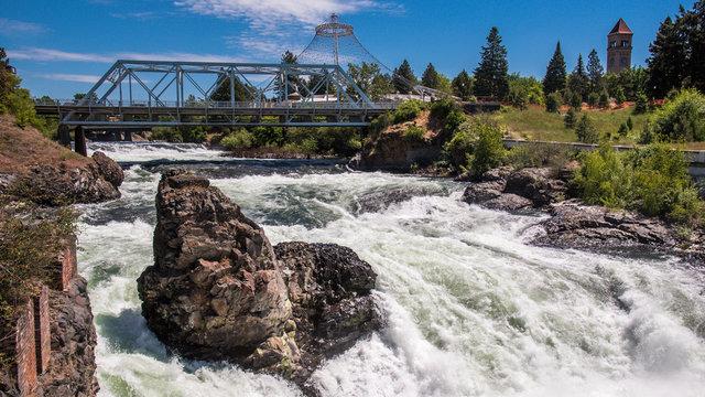 Riverfront Park in Spokane Washington