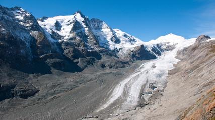mountain grossglockner, austria, pasterze