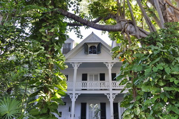 A House in Key West, Florida, USA