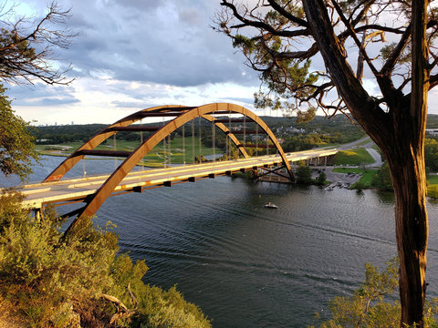 Pennybacker Bridge Austin TX