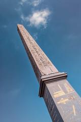 Fototapete - Luxor Obelisk in Concorde square in Paris