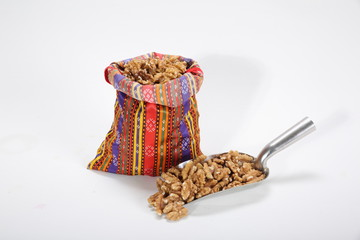 Turkish walnut dried fruit pulp - Buy this stock photo and explore