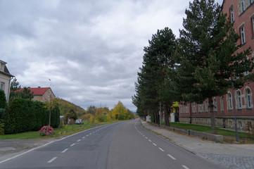 Rottwerndorfer Straße Pirna vor Brückenbaubeginn