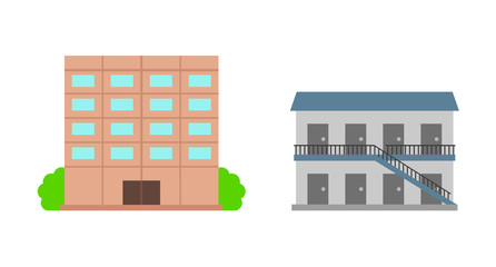 マンションとアパート
