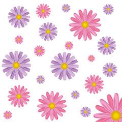 cute flowers cartoon
