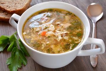 zupa flaki drobiowe
