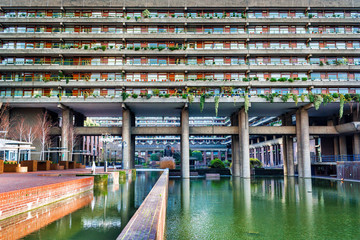 Barbican Estate in London (England)