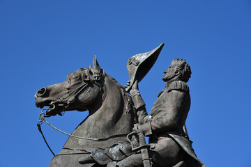 Equestrian statue of Andrew Jackson in New Orleans