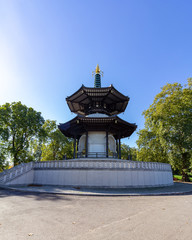 Peace Pagoda in Battersea Park, London