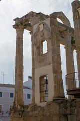 Roman temple to Diana in Merida (Spain)