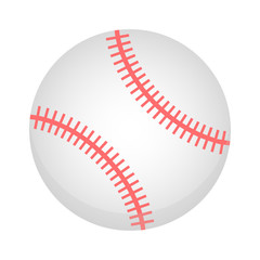 Baseball ball isolated on a white background