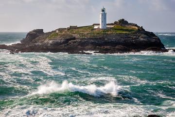 Godrevy Island Cornwall England UK