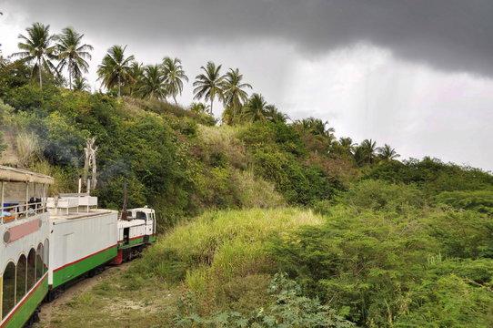Railway in St. Kitts