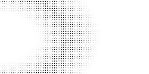 Abstract halftone dots.