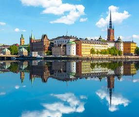 In de dag Stockholm Old town (Gamla Stan), Stockholm, Sweden