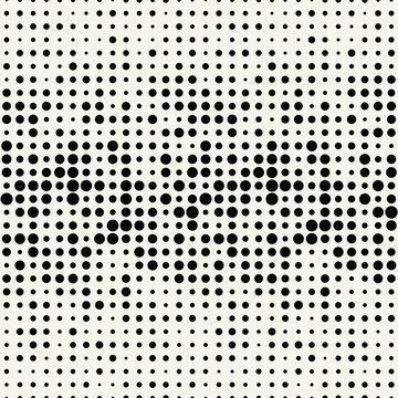 halftone dot seamless pattern, minimal geometric abstract background