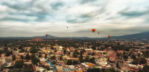 Balloons at Teotihuacan