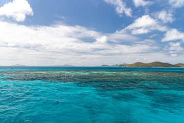 Saint Vincent and the Grenadines, Mayreau, Palm Island, Carriacou, Union view