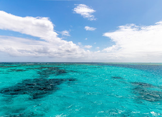 Saint Vincent and the Grenadines, ocean and sky