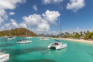 Saint Vincent and the Grenadines, Mayreau, Salt Whistle Bay