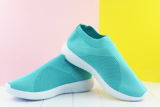 fashionable trend sports sneakers women's shoes