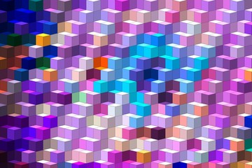 colorful isometric minimal abstract patterns and backgrounds