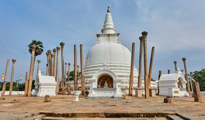 Thuparama stupa in Anuradhapura - Sri Lanka