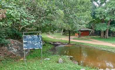 Kaludiya Pokhuna  in Mihintale - Sri Lanka