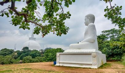 Buddhist pilgrimage site  in Mihintale - Sri Lanka