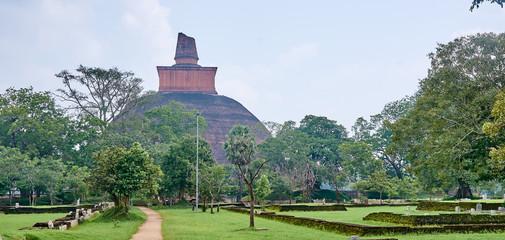 Jethawanaramaya Dagoba in Anuradhapura - Sri Lanka